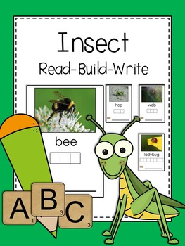Writing Center: Read. Build. Write (Insect Edition)