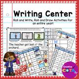 Writing Center Bundle: Write a Sentence Roll it Activities