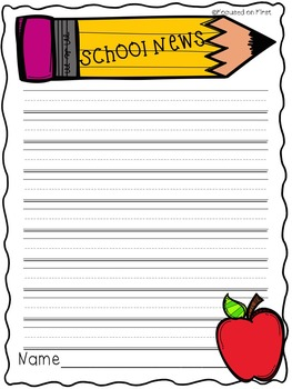 Writing Center: School News
