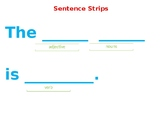 Writing Center Sentence Strips