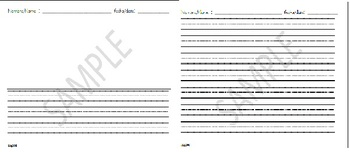 Writing Center Sheet