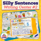 Writing Center: Silly Sentences 2