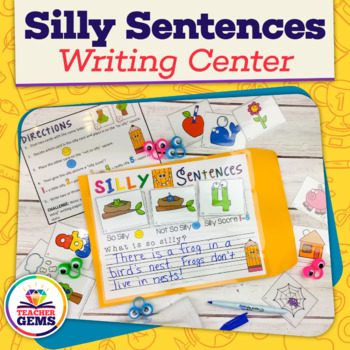 Writing Center: Silly Sentences 1