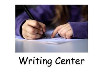 Social Narrative: Writing Center