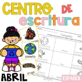 Writing Center Spanish April - Centro de Escritura Abril