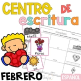 Writing Center Spanish February - Centro de Escritura Febrero