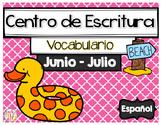 Writing Center Spanish June and July - Centro de Escritura Junio y Julio