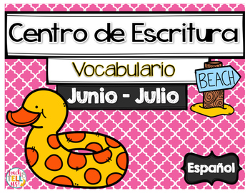 Writing Center Spanish June and July - Centro de Escritura Junio y Julio