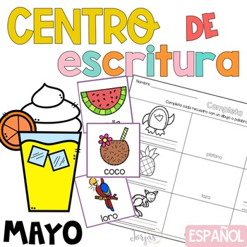 Writing Center Spanish May - Centro de Escritura Mayo