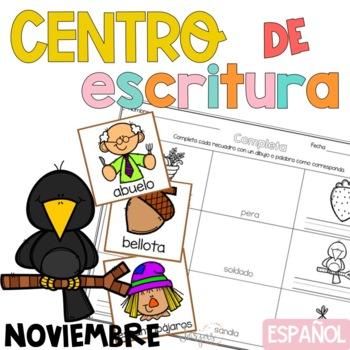 Writing Center Spanish November - Centro de Escritura Noviembre