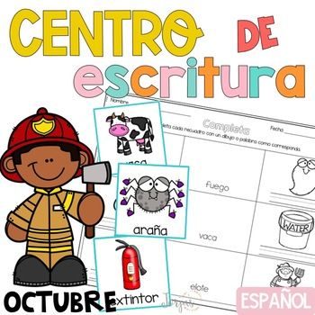Writing Center Spanish October - Centro de Escritura Octubre