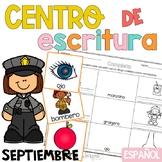 Writing Center Spanish September - Centro de Escritura Septiembre