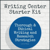 Writing Center Starter Kit