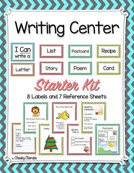 Writing Center Starter Pack