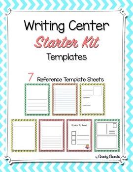 Writing Center - Templates