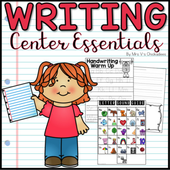 Writing Center Starter Pack: The Essentials for Writing