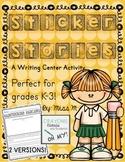 Writing Center - Sticker Stories