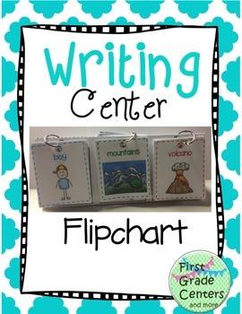 Writing Center Flipchart