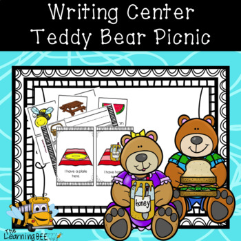 Teddy Bear Picnic Themed Writing Center for PreK, Kindergarten, and Special Ed.