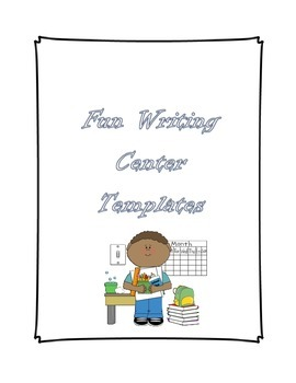 Writing Center Templates for Primary Grades ~ ELA ~ + Lots of Freebies
