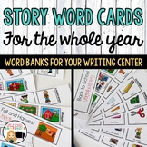 Writing Center Thematic Word Cards