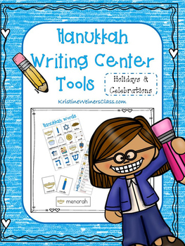 Hanukkah Writing Center Tools - Holidays and Celebrations