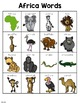 African Animal Words