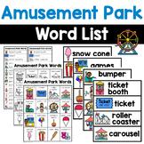 Amusement Park Words (carnival)