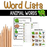 Animal Words