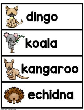 Australia Words
