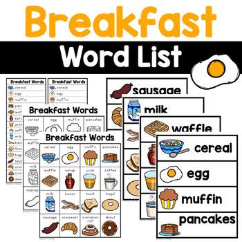 Breakfast Words