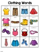Clothing Words