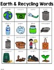 Earth Day and Recycling Words