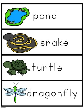 Pond Words