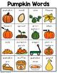 Pumpkin Words
