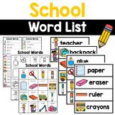 School Words