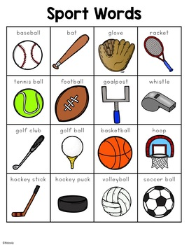 Sport Words