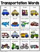 Transportation Words