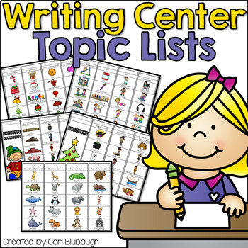 Writing Center Topic Lists