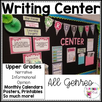 Writing Center: Narrative, Informational, Opinion, Letter Writing and Poetry