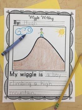 Writing Center Wiggle Writing