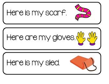 Writing Center - Winter Sentences Set 2