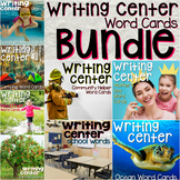 Writing Center Word Cards Bundle