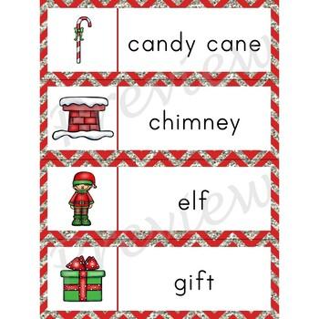 Writing Center Word List ~ Holiday Words {Christmas}