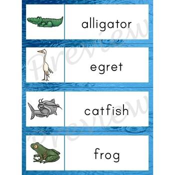 Writing Center Word List ~ Pond Words