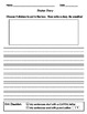 Writing Center Worksheets