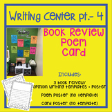 Writing Center | Write a Book Review | Opinion Writing | Write a Poem | Card