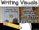 Writing Center and Story Writing Visuals for Preschool and Kindergarten