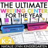 Writing Center for the Year Bundle   Kindergarten and 1st