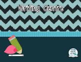 Writing Center with exemplars, templates and success criteria